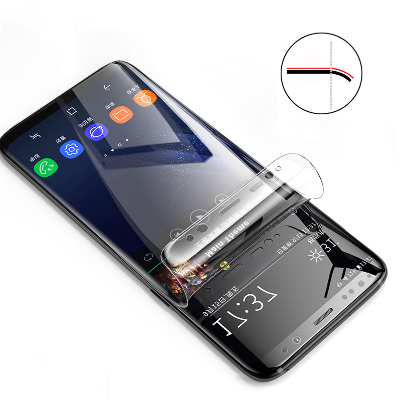 Screen Hydrogel Film For Samsung Galaxy A30 A50 Full Protective Film For samsung S8 S9 s10 plus S10E M10 M20 Protector Film