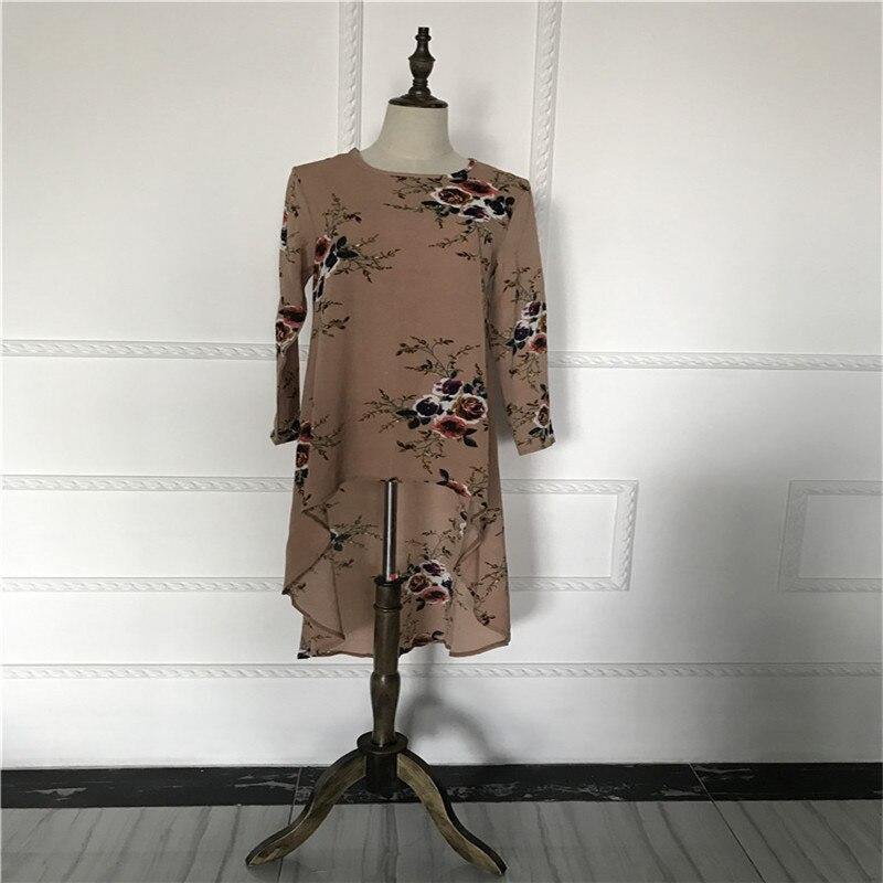 Image 3 - Muslim Blouses Adult Women Shirts Dress Long Blouse Islamic Tops  New Abaya Vintage Dress Shirt Loose Stylemuslim blouselong islamic  blouseislamic blouse
