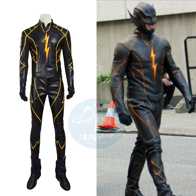 Hero Catcher  High Quality Custom Made Flashpoint Cosplay Costume Set