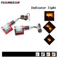 Para Yamaha Virago XV400 XV250 V MAX1200 TMAX 530 500 T MAX T MAX XMAX Universal Motos Turn Signal Luz Motocicleta Farol