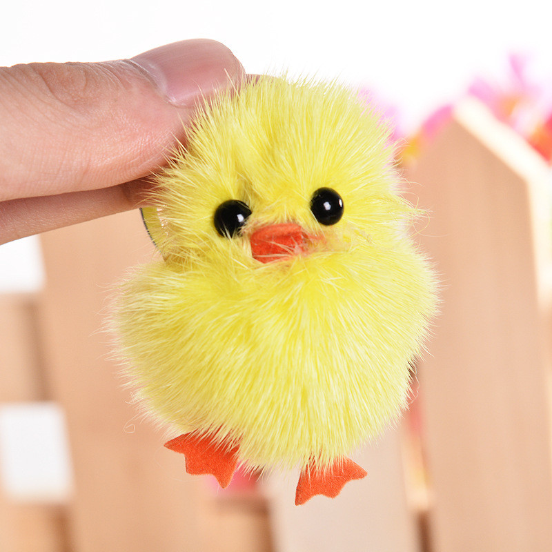 lovely chick <font><b>plush</b></font> <font><b>toy</b></font> ,cute cartoon keychain <font><b>toy</b></font> , soft stuffed <font><b>plush</b></font> doll animals <font><b>key</b></font> <font><b>chains</b></font> bag Pendant kid girls gift image