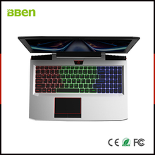 "BBEN G16 15,6 ""Laptop Windows 10 Nvidia GTX1060 GDDR5 Intel i7 7700HQ 16 GB RAM M.2 SSD IPS RGB Hintergrundbeleuchtete Tastatur Gaming Computer"
