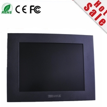"""new 12.1"""" 4:3 800*600 hdmi vga usb input open frame waterproof metal casing Wall mount resistive touch screen industrial monitor"""