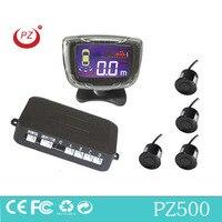 bibibi alarm & English human invoice alarm option Car LCD 4 Reverse Parking Sensors Backup Radar Kit Multi colors sensor system