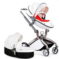 Baby stroller high landscape can sit and lie four wheel suspension barrow portable folding stroller baby stroller