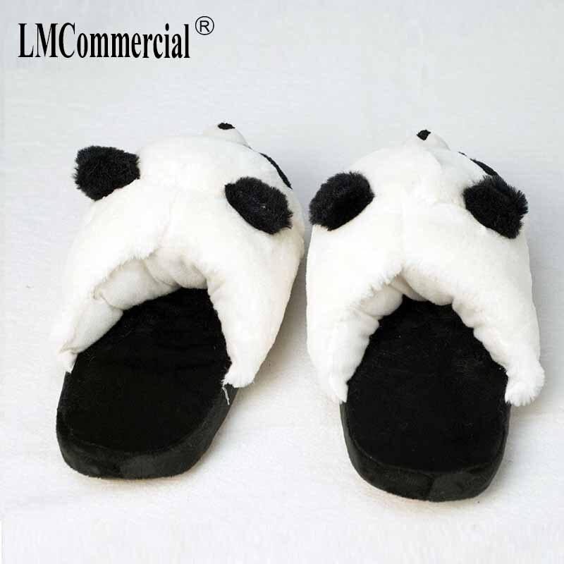 Cotton Plush Special Indoor Soft panda Shoes Men&Women Slippers custom Slipper Cottoon Slipper floor lovers shoes Winter Warm 2