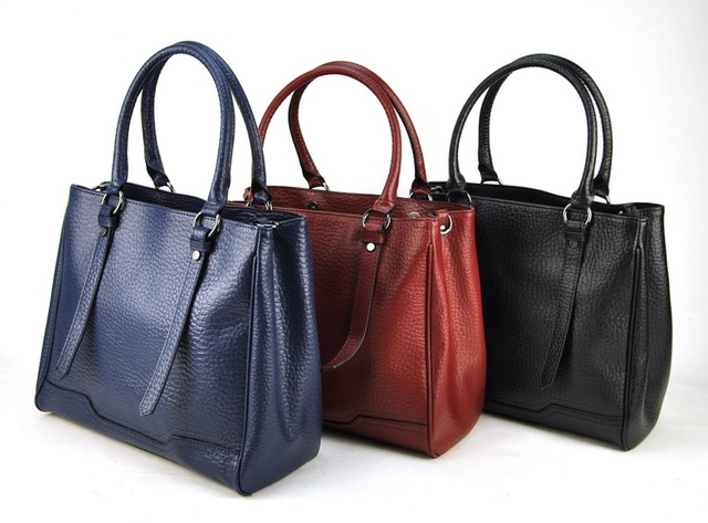 Aliexpress.com : Buy Women Genuine Leather Tote Shoulder Handbag ...
