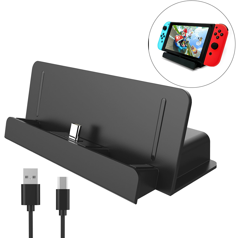 Charger Dock Station for Nintend Switch Game Console Controller Gaming Accessories Charging Dock Holder for Nintendo Switch