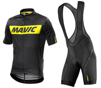 2017 Mavic Short Sleeve Cycling Wear Breathable Bicycle Clothing Quick Dry Cycling Clothes Bike Riding Jersey