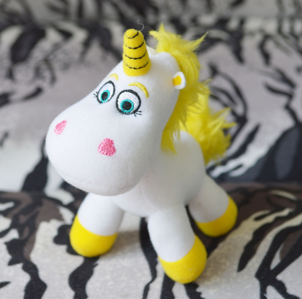 Us 9 49 5 Off Toy Story Buttercup Unicorn Plush Toy Unicornio White Horse Stuffed Animals Cute Pendant Keychains Key Chain Kids Toys Gifts 11c In