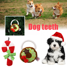 1 Dog Christmas Chew Toy