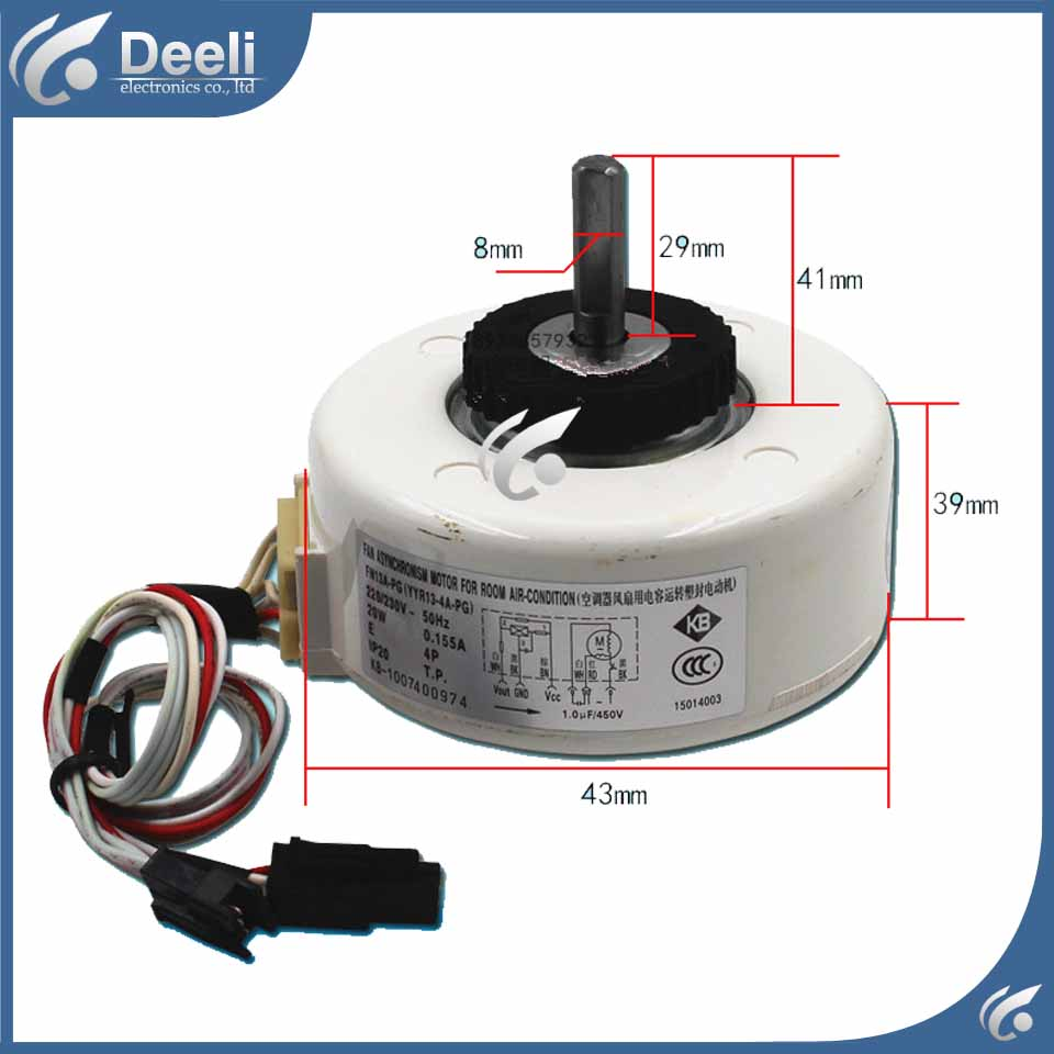 new original for Air conditioning motor FN13A-PG YYR13-4A-PG 15014003 delta inverter b v series pg card pg 03 new original 100% tested perfect quality