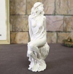 Hause Dekoration Mode Abstrakte Weiße Sandstein Schönheit Skulptur Ornament Handmade Hochzeit Dekoration Statue Geschenk Skulptur