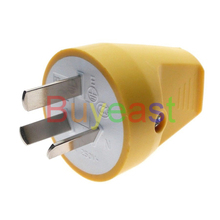 купить 1 X AU, China, New Zealand (type I) 3 Pin Male Rewireable Plug AC100~250V 10A Back Entry по цене 200.63 рублей