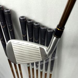 Image 4 - Nieuwe mensen Golfclubs set S 02 4 ster Golf irons set 4 11.Aw.Sw met irons clubs Golf Graphite shaft Cooyute Gratis verzending