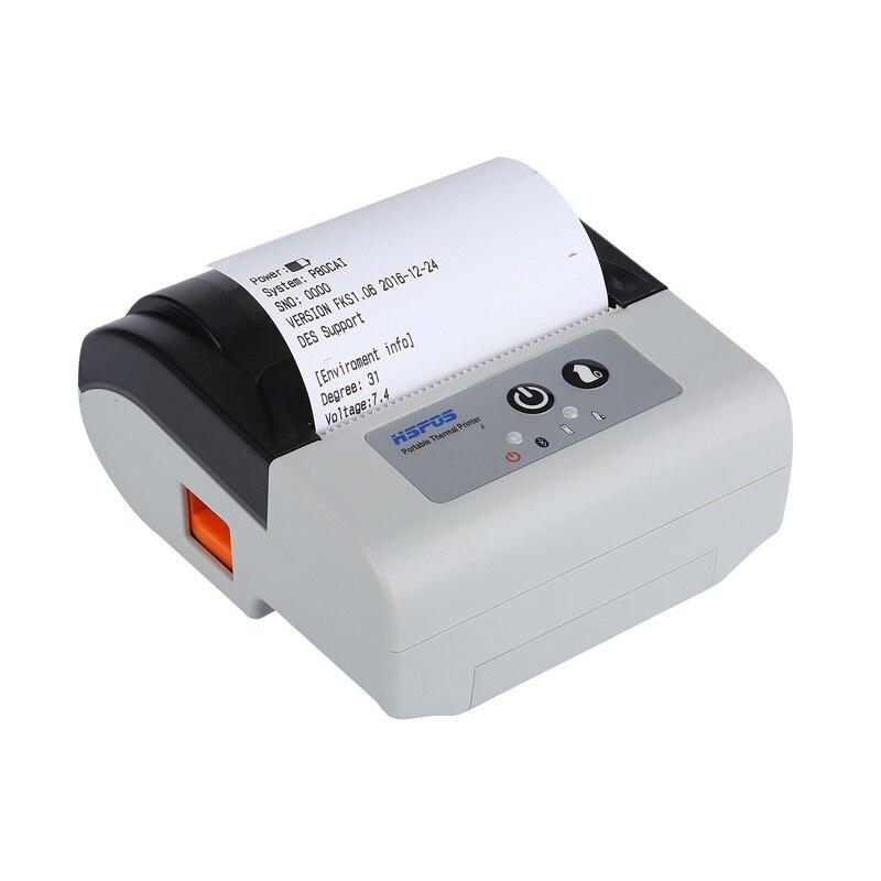 Portable 80mm bluetooth imprimante thermique usb réception imprimante avec coupe