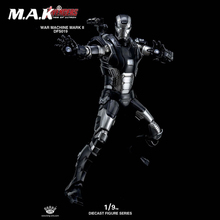 Collectible DFS019 1/9 The Avengers War Machine Mark II Diecast Action Figure Doll Toys Gift
