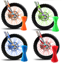 Motocicleta Dirt Bike Enduro Off Road Rim Wheel spoke skins para honda crf 450 CR CRF XR XL 85 125 500 250 KTM KAWASAKI YAMAHA BMW