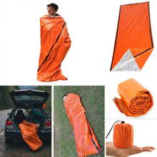 Outdoor Survival śpiwór na Camping piesze wycieczki termiczny wodoodporny obóz awaryjne śpiwory wielokrotnego użytku torby спальный мешок i jw tanie tanio [-10℃ ~-20℃] Łączenie singiel śpiwór Dla dorosłych Standardowy (nadaje się do 1 8 m wysokości i poniżej) Wiosna i jesień
