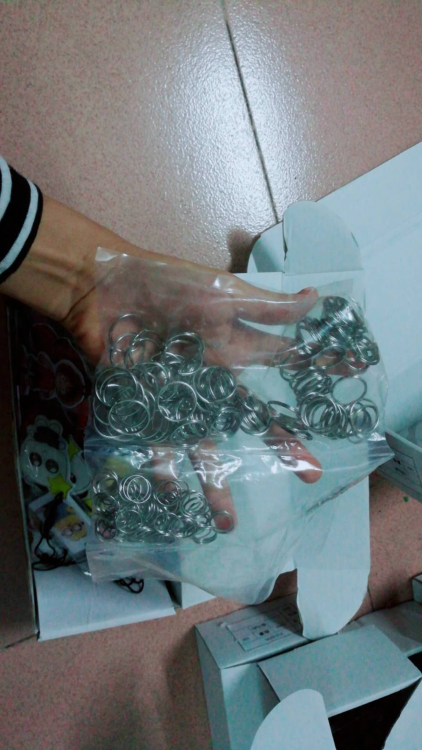 100pcs/lot key Iron ring 100pcs lot tp4054
