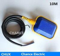 10 m özel öğeleri su seviye sensörü kontrol Endüstrisi için pompa ve tank sıvı şamandıra anahtarı Sıvı Seviye Sensörü (CX-M15-2)