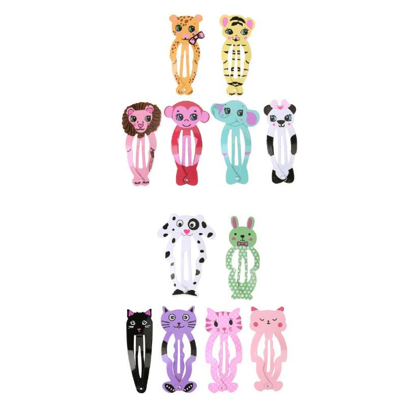 6pcs/Set Cute Animal Girls Hair Clip Hairpin   Headwear   Children Styling Tool