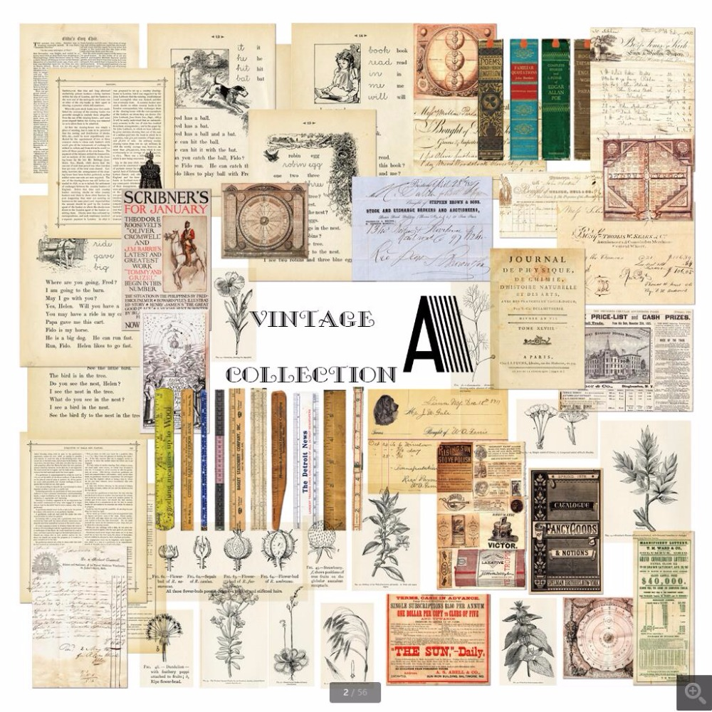 50 sheets/set Vintage Series old newspaper Material Paper Set for Scrapbooking DIY Projects Photo Album Card Making Crafts transparent clear stamp diy silicone seals scrapbooking card making photo album decoration supplies clear stamps stamping