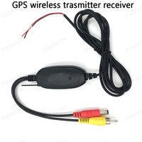 NEW High Quality Professional 2 4G Wireless Transmitter Wireless Receiver For Car GPS Portable Back Up
