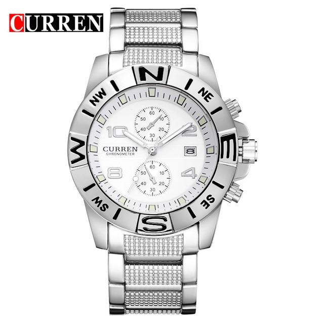C URREN 8038นาฬิกาผู้ชายหรูยี่ห้อธุรกิจนาฬิกาสบายๆนาฬิกาควอตซ์นาฬิกาrelógio masculino