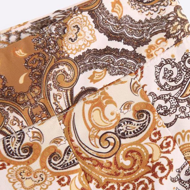 W stylu Vintage stylowe kwiatowy Print plisowane spodenki kobiet 2019 moda na zamek błyskawiczny Streetwear Chic krótkie spodnie na co dzień szorty