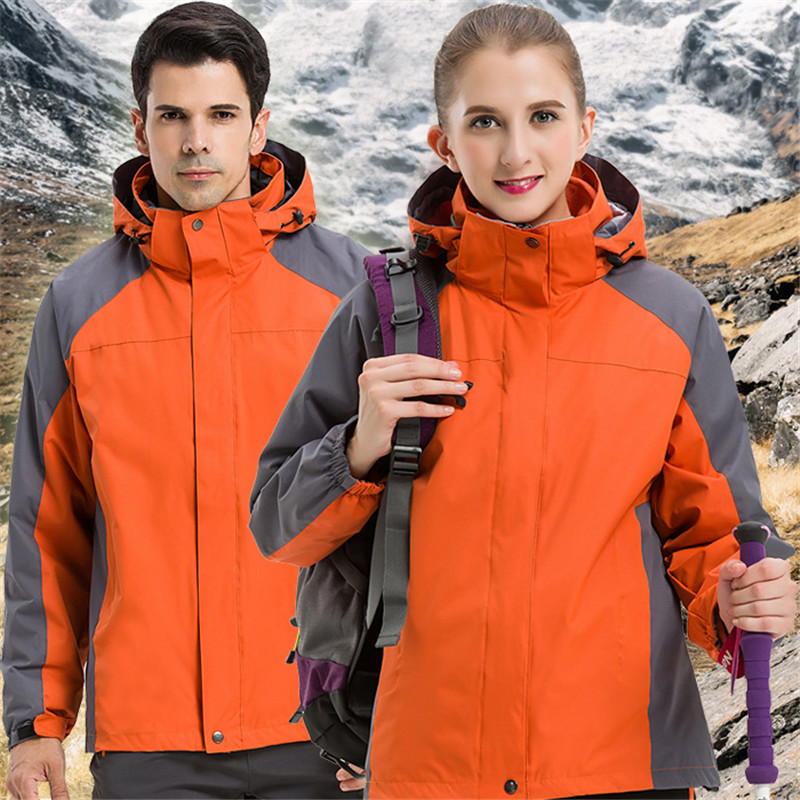 New Arrival Men/Women's Outdoor Hiking Jackets Lovers Waterproof Windproof Mountain Warm Coat Jacket Pizex Large Size Sportswear new arrived outdoor waterproof windproof jackets men mountain campling hiking fishing running sportswear tactical jackets