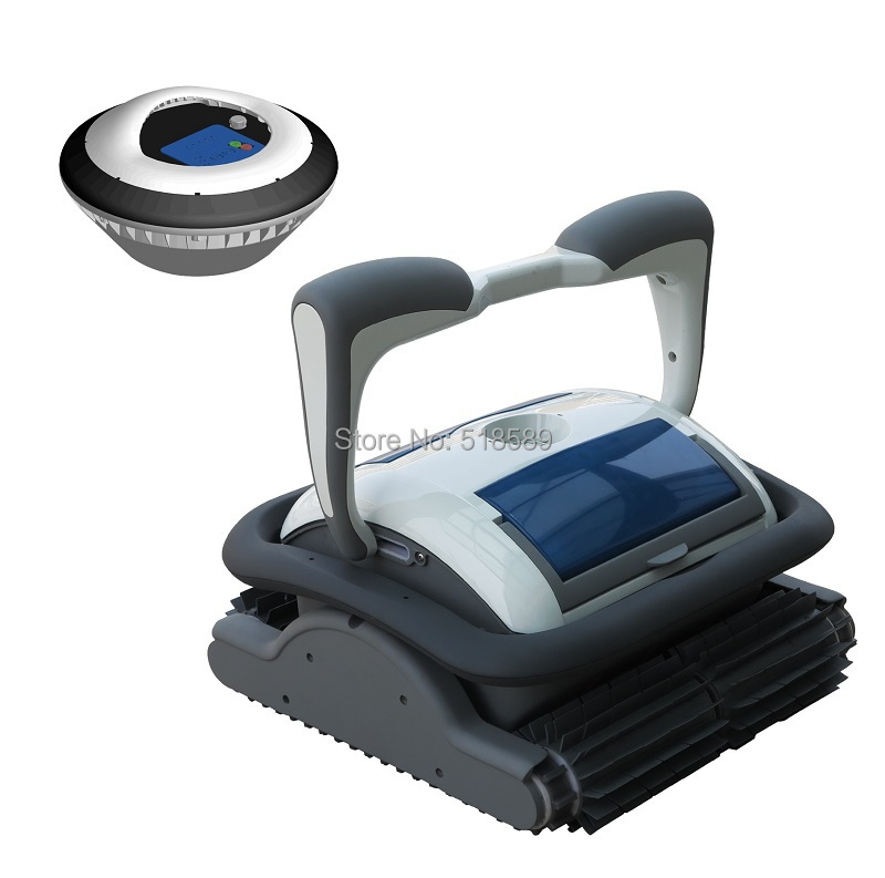 Swimming pool cleaner/swimming pool robot cleaner 3110 Cordless Model drvien by floating battery free shipping