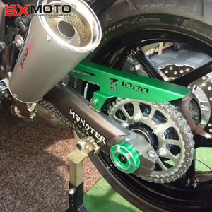 Image 2 - Voor Kawasaki Z1000 Z 1000 2010 2019 Z1000SX 2010 2019 Motorfiets Gat Cover Achterwiel Vork Decoratie Cover beugel Protector