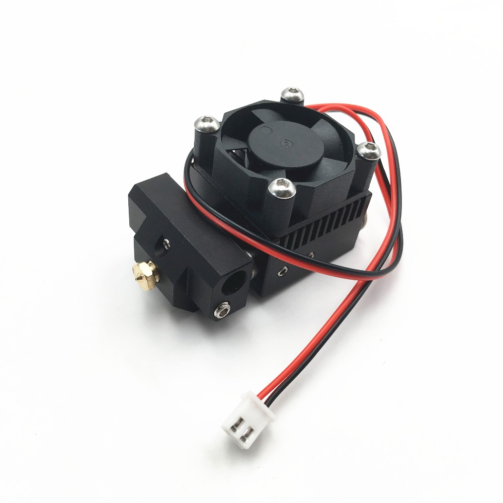 Funssor tout métal Cyclops Plus hotend kit avec NTK 100 capteur de thermistance 2 entrée 1 extrudeuse de tête d'extrusion