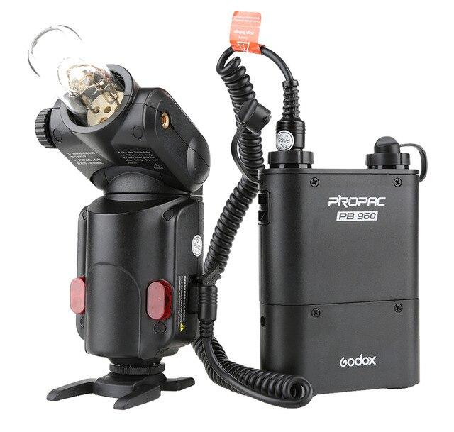 Godox Witstro AD-180 protable Flash Light Outdoor Speedlite PB960 Battery Power Pack Kit Black For DSLR