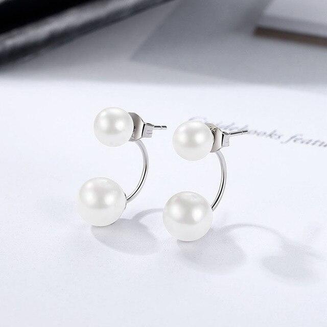 925 Sterling Silver Stud Earrings for women 4