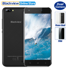 Blackview A7 Dual Rear Cameras Smartphone 5.0 inch HD MTK6580A Quad Core Android 7.0 1GB RAM 8GB ROM 5MP Cam 2800mAh Battery(China)