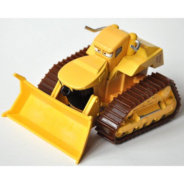 Yellow Bulldozer Pixar Cars Maters Tall Tales Compilation,Mini Alloy Toy Car,1:55 Scale, Diecast Metal Model Cute Toys - DG TIN BOX store