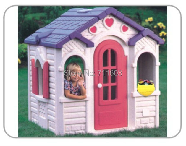 pas cher vente aire de jeu pour enfants en plastique maison maison en plastique pour enfants. Black Bedroom Furniture Sets. Home Design Ideas