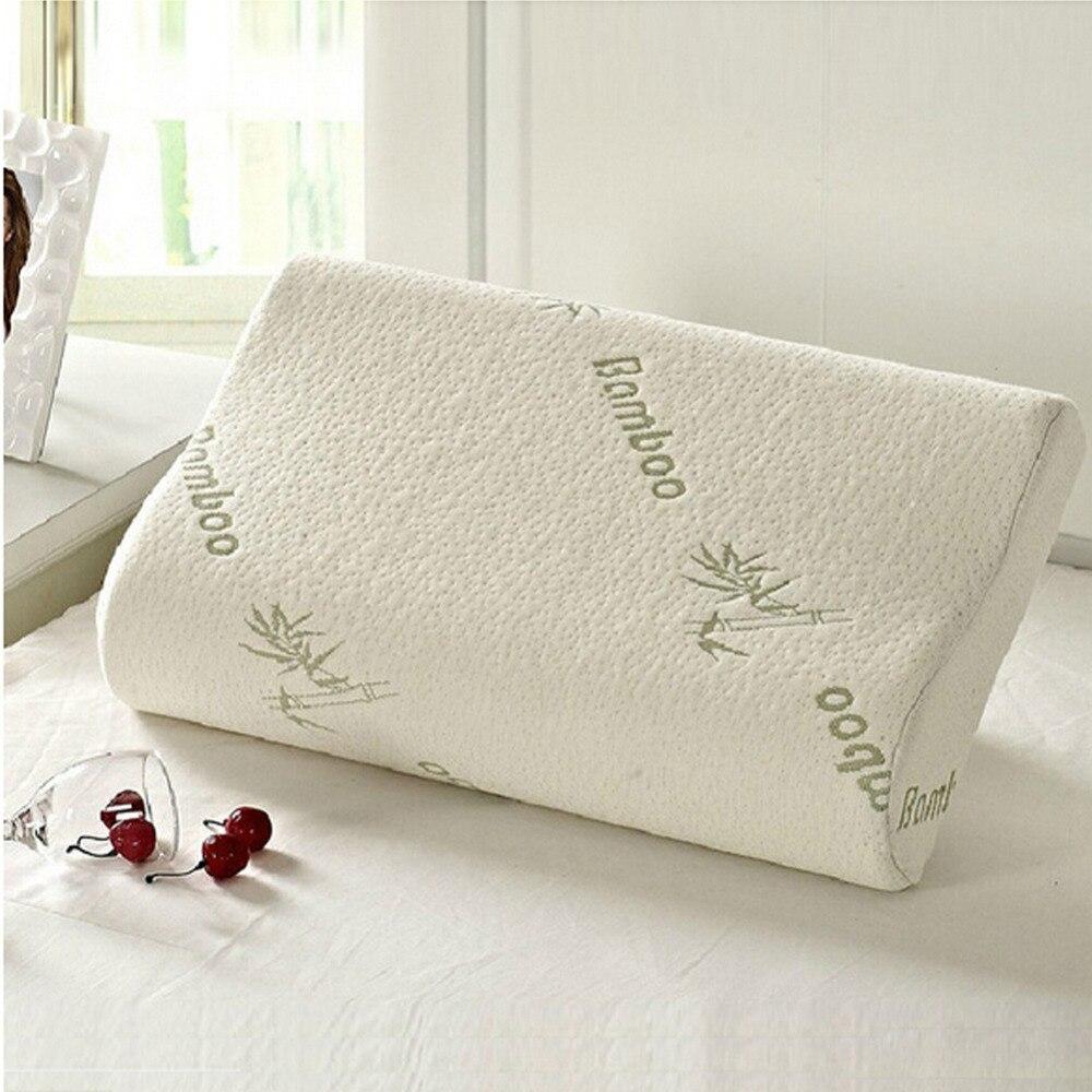 queen hotel comfort contour orthopedic bamboo fiber sleeping memory foam mainland