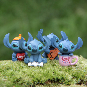 Hot 4pcs/Set Mini Stitch Figur