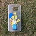 Phone Cases for Samsung Galaxy S7 S7 edge S6 S6 edge S6 edge Plus  Simpson Snow white Mermaid Nice girl Dress Cute Cartoon Cases