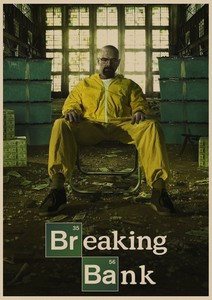 Image 4 - Breaking Bad movie retro Poster Vintage Kraft Paper Retro Posters Wall Sticker Bar Cafe Decoration Home Decor Gift A4