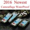 3 in1 Camo Padrão de Camuflagem Do Exército de Luxo À Prova de Choque à prova de Sujeira Caso Armadura à prova d' água Casos de Telefone de Proteção Para iPhone 5C 5S SE