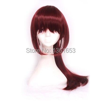 watobi Swim Club Free! Gou Matsuoka cosplay wigs japanese anime cos dark purple women wig hair