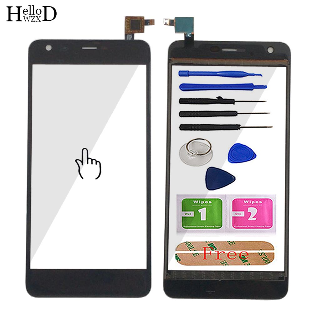 Phone Touch Screen For Highscreen Easy XL / XL Pro Touch Screen Touch Screen Front Glass Digitizer Sensor Tools Adhesive
