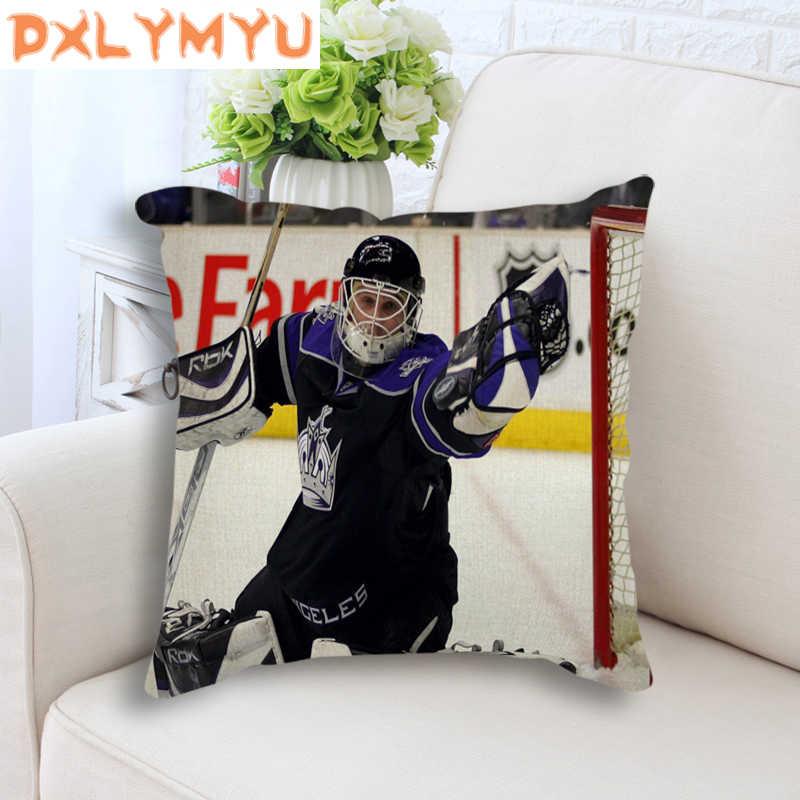 Moderna Imagem Capa de Almofada Esportes de Hóquei No Gelo da NHL Poster Sofá Fronha Almofadas Decorativas Para Sofá Fronhas 45x45 cm