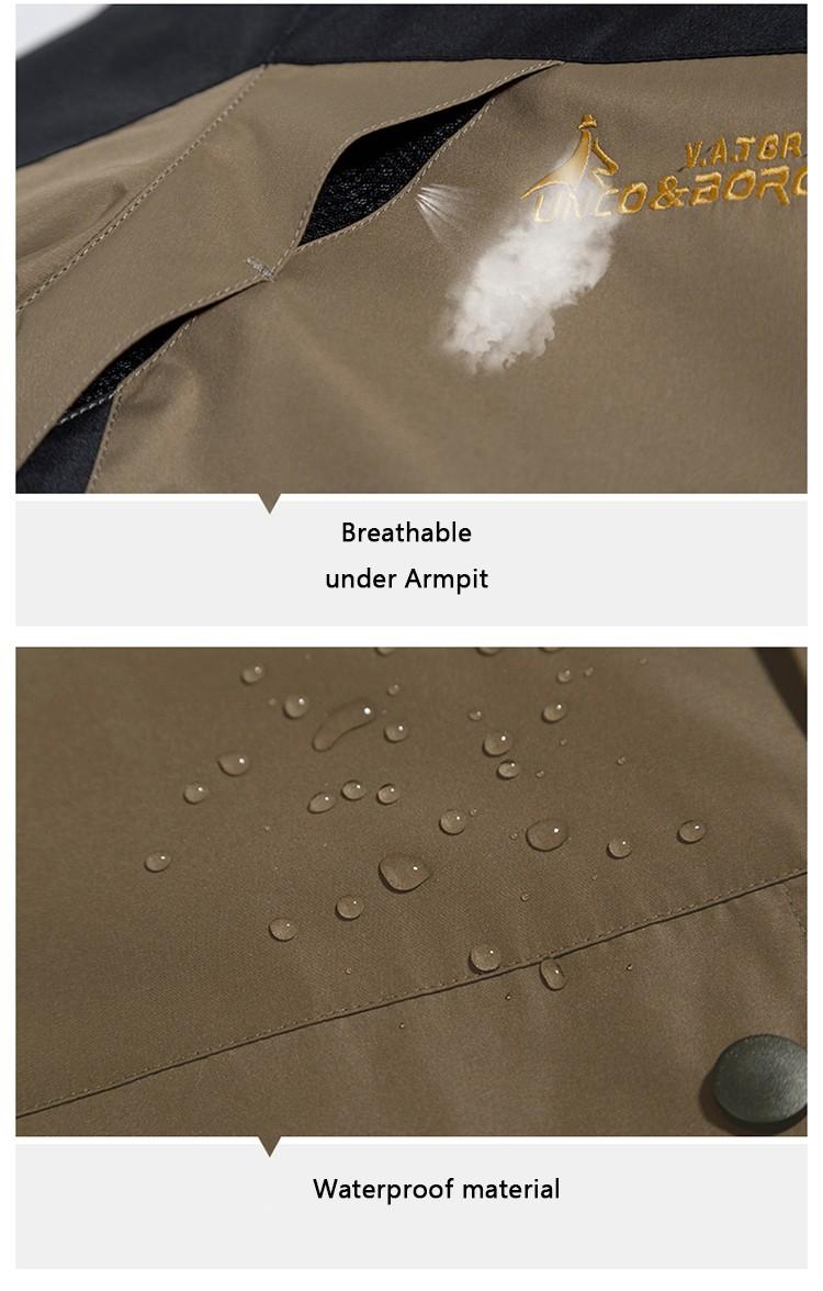 2017 плюс размеры 9 цвета водонепроницаемый зимняя куртка для мужчин теплый 2 в 1 мужские парки ветрозащитный съемный капюшон зимнее пальто размеры л-Размер 6xl