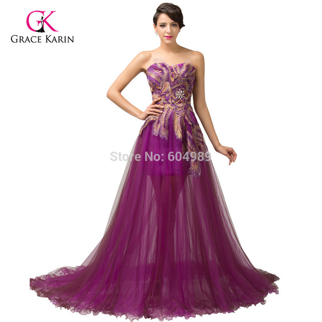 Long Prom Dresses Retro