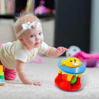 NEW Cute Handbells Musical Developmental Toy Bed Bells Kids Baby Toys Rattle +fun Small Jingle Bells Ball